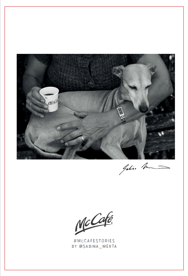 McCafé Stories od Sabiny Merty, zdroj: McDonald's