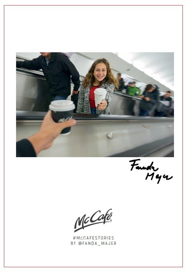 McCafé Stories od Fandy Majera, zdroj: McDonald's