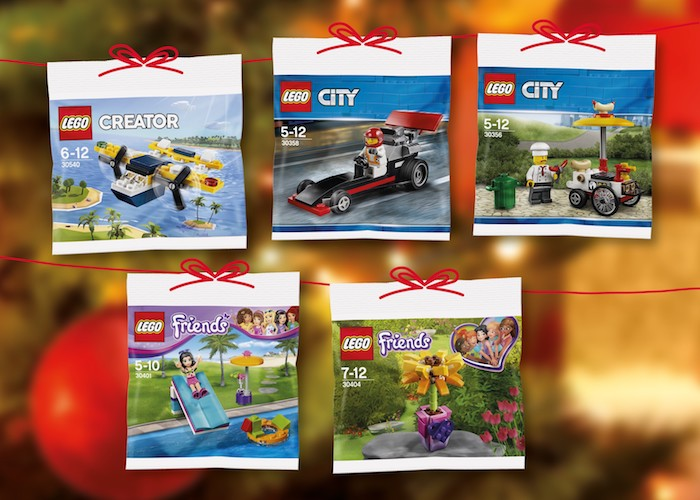 Albert nabídne v předvánoční sběratelské kampani stavebnici Lego, zdroj: Ahold.