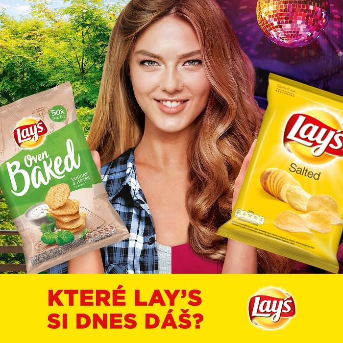 Klíčový vizuál značky Lay's, zdroj: PepsiCo