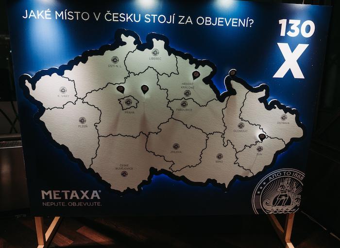 Metaxa startuje ve spolupráci s Klubem českých turistů projekt 130 objevů, foto: Metaxa.