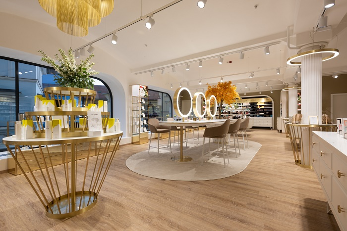 Prostor bude sloužit i k různorodým eventům, zdroj: FAnn parfumerie.