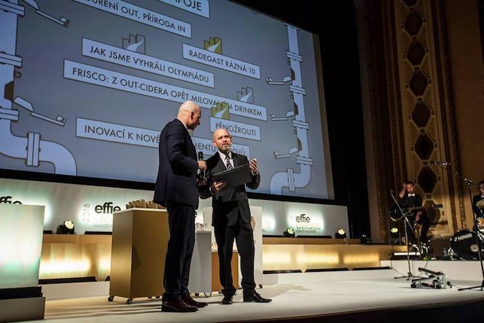 Výkonný předseda AKA Marek Hlavica (vpravo) a Jakub Malý, výkonný ředitel výzkumné agentury Ipsos, zdroj: FB AKA