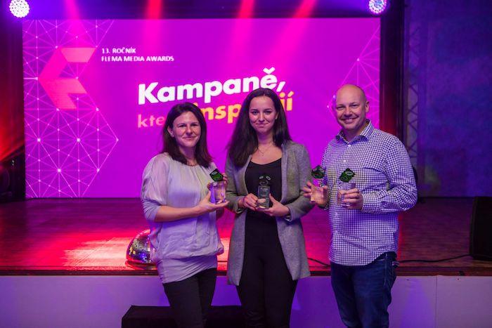 Grand Prix si letos na Flema Media Awards odnesl David Brada (vpravo) z agentury Cream Prague za kampaň The Mow-Na Lisa pro sekačky Spider, zdroj: Flema.