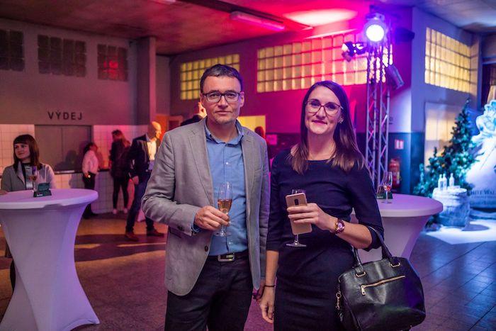 Cenu si přišel převzít také Jan Müller, ředitel marketingové komunikace společnost Moneta Money Bank, zdroj: Flema.