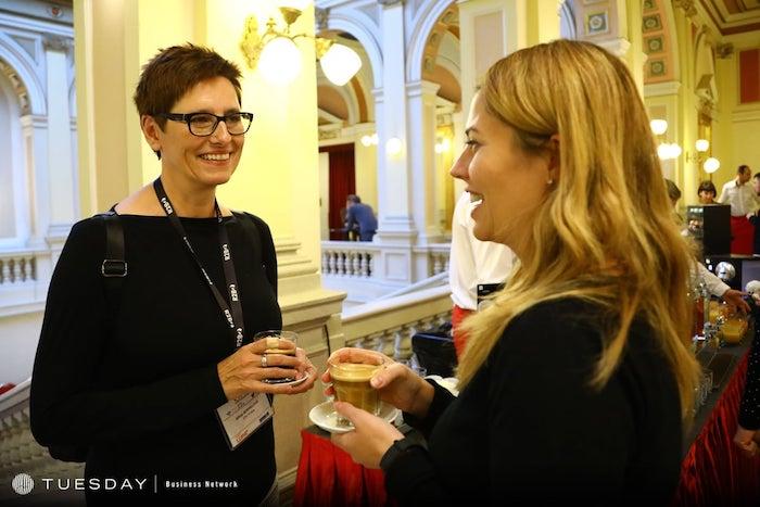 Jiřina Köppelová, ředitelka obsahových portálů Primy, v rozhovoru s redaktorkou časopisu Marketing & Media Lucií Vaníčkovou, zdroj: Internet Info