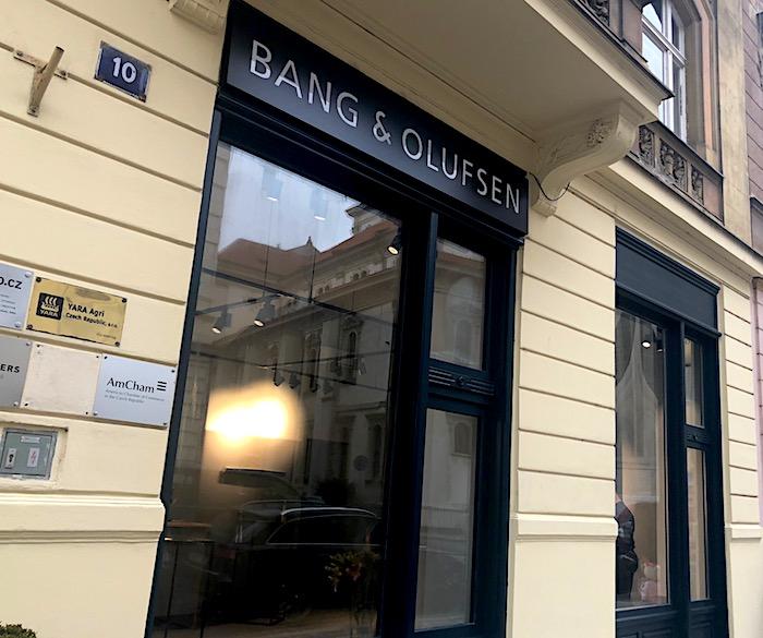 Bang & Olufsen otevírá novou prodejnu v Dušní ulici v Praze, foto: MediaGuru.cz.