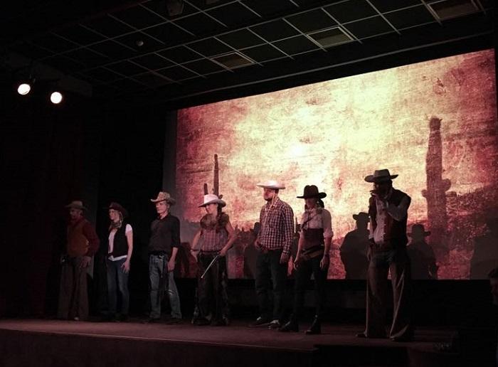 Premiéra filmu (Ne)ohrožení se odehrála v duchu Divokého západu, zdroj: OMG Research.