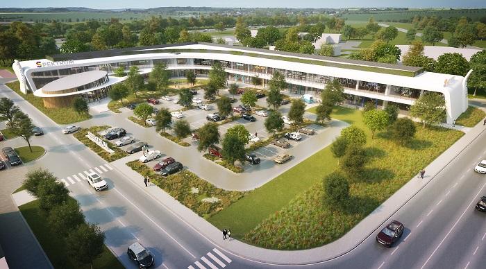 Vizualizace nového obchodního centra Spektrum, zdroj: CPI PG