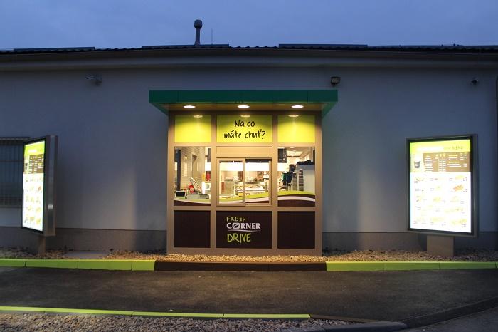 První Fresh Corner Drive na čerpací stanici Mol v Hradci Králové, zdroj: Mol