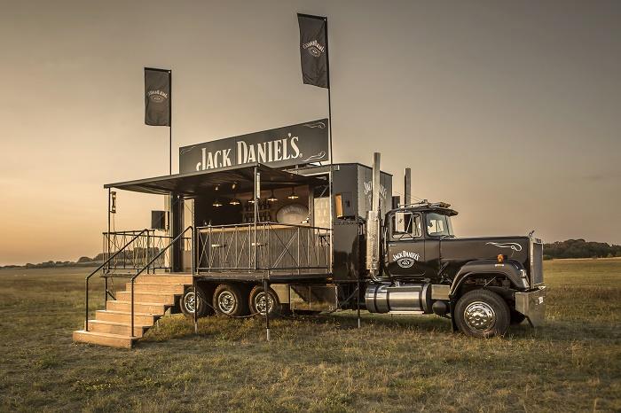 Jeden ze dvou Absolutních vítězů: Jack Daniel's Truck od společnosti Advanced production, zdroj: POPAI