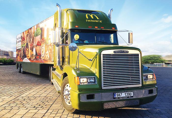 Cenu za Integrovanou in-store kampaň získala agentura up brand activation za McDonald's Na Rovinu Tour, zdroj: POPAI.
