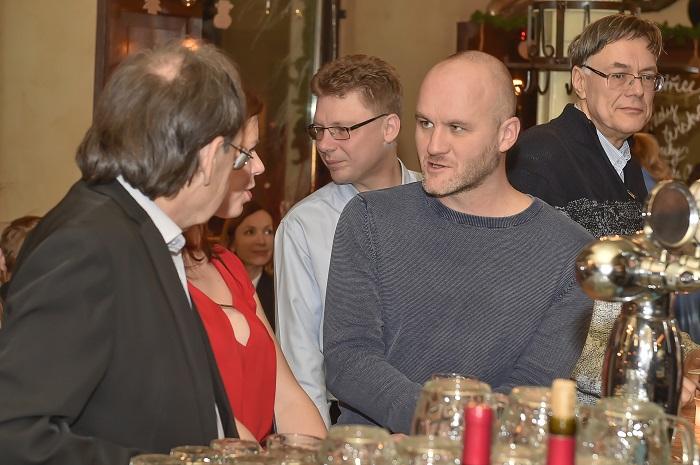 Dorazil i Petr Milata, tiskový mluvčí ČSOB Pojišťovny, který se nyní posouvá více do marketingu, zdroj: ČSOB.