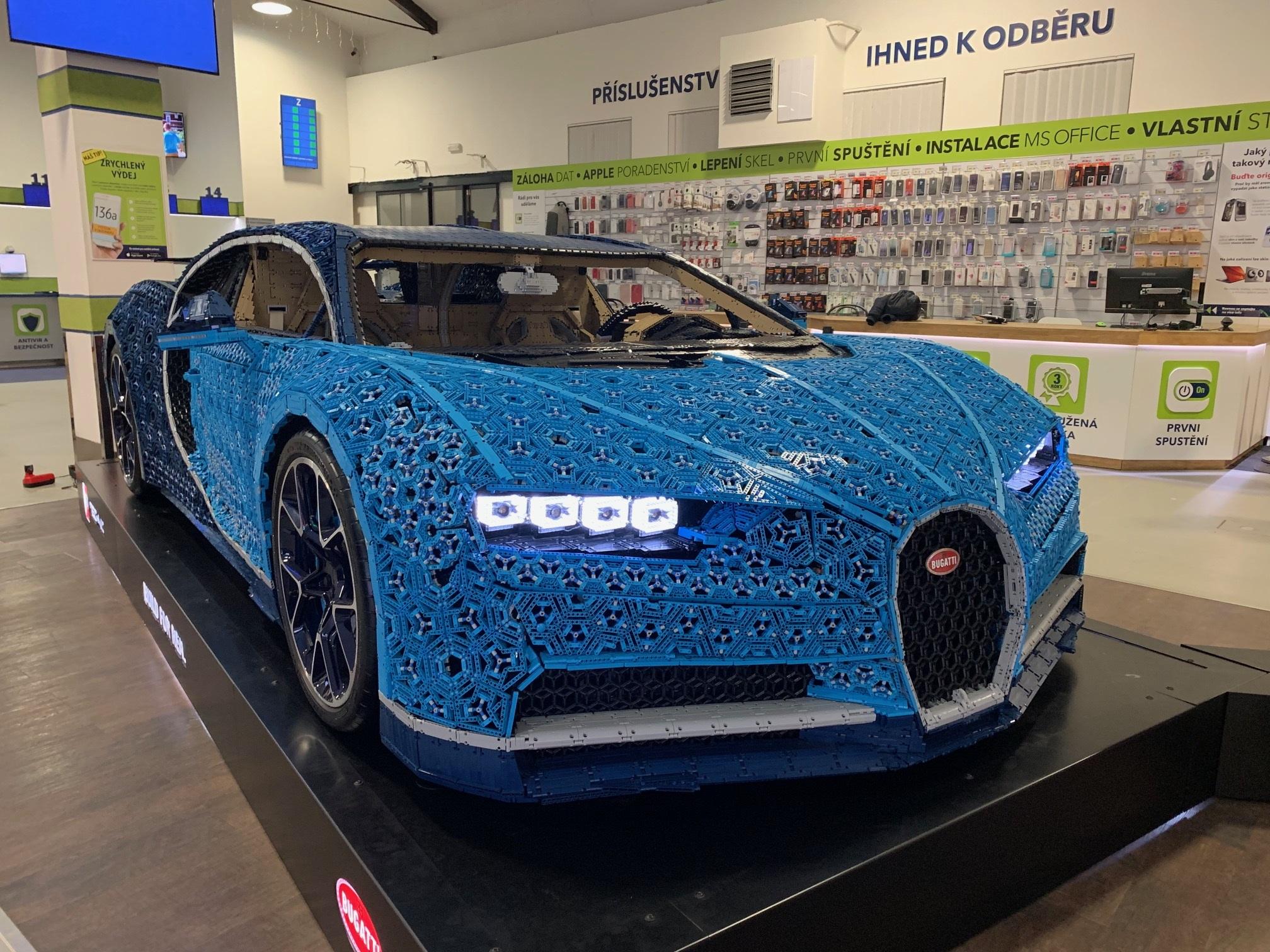 Bugatti Chiron stojí téměř 8 tisíc Kč a otevřelo trh Lego dospělým, foto: MediaGuru.
