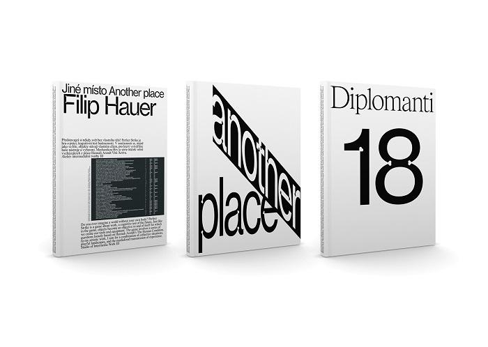 Obálky katalogu k diplomantské výstavě, zdroj: 20YY Designers