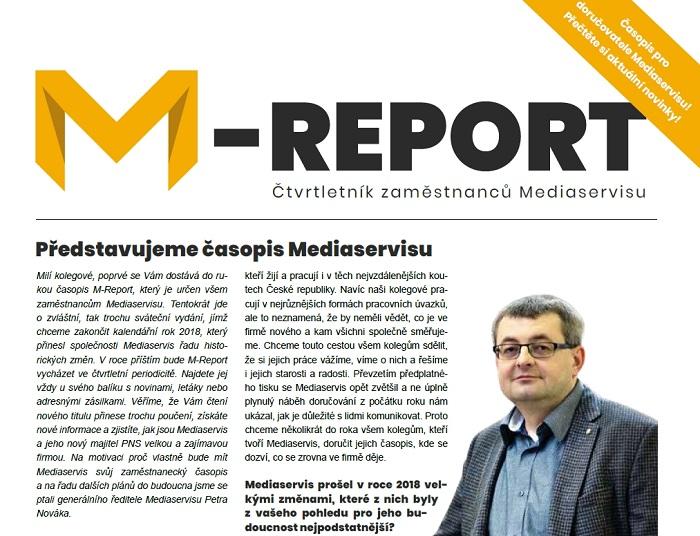 Podoba časopisu M-Report