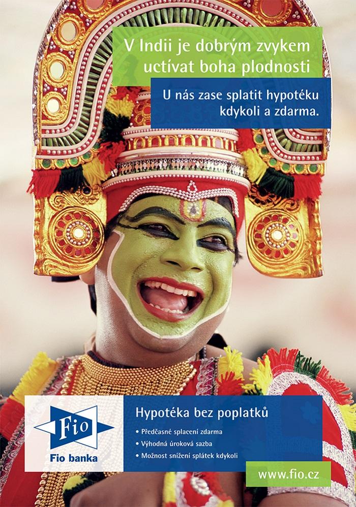 Klíčový vizuál nové kampaně Fio banky, zdroj: Fio banka