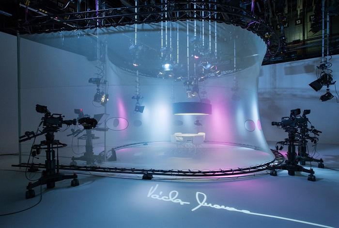 Nové studio OVM, foto: Česká televize