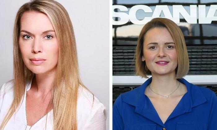Romana Polachová a Martina Vulganová, foto: Scania