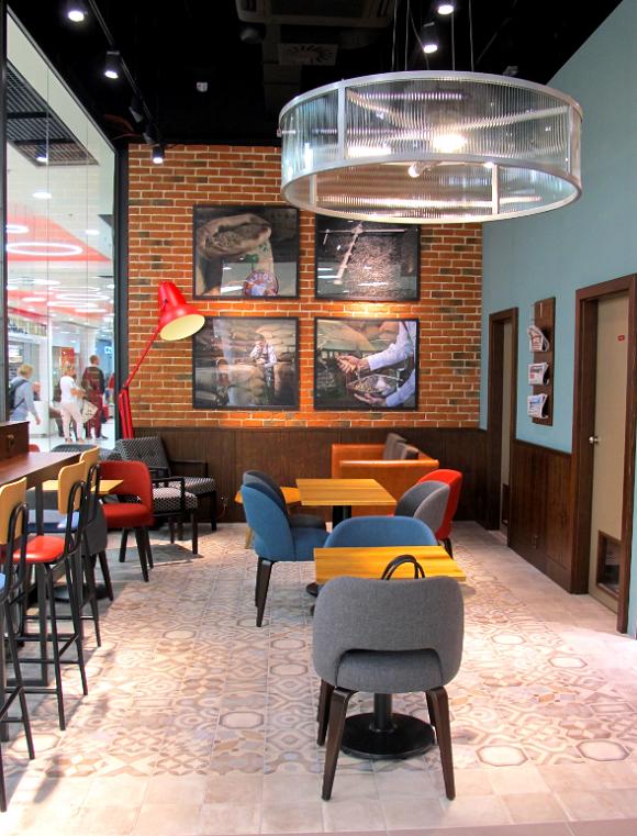 Ukázka kavárny v designu Atlas, zdroj: FB Costa Coffee Czech Republic