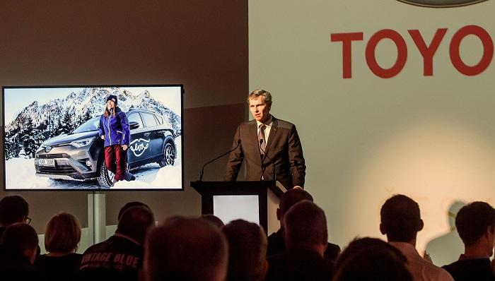 Jiří Kejval, šéf ČOV (Zdroj: Toyota)