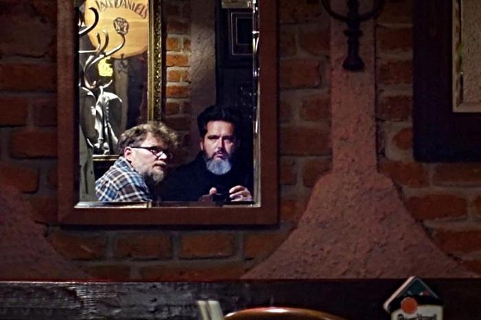 Tomáš Tesař a Jan Stránský na valné hromadě své vydavatelské společnosti Spotlight Media, foto: Jan Stránský