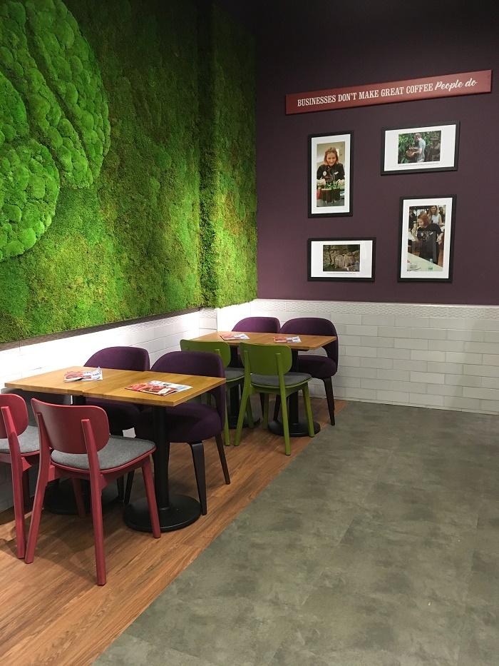 Ukázka nové kavárny v Olomouci, zdroj: Costa Coffee