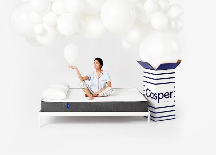 Matrace Casper jsou dodávány v krabici, zdroj: Casper.