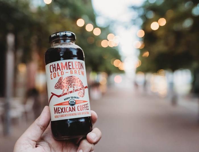 Jedna z mikroznaček Chameleon Cold-Brew, o kterou projevila zájem nadnárodní korporace, zdroj: FB Chameleon Cold-Brew.