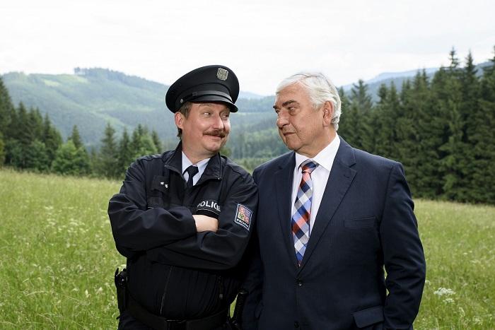 Strážmistr Topinka, foto: ČT