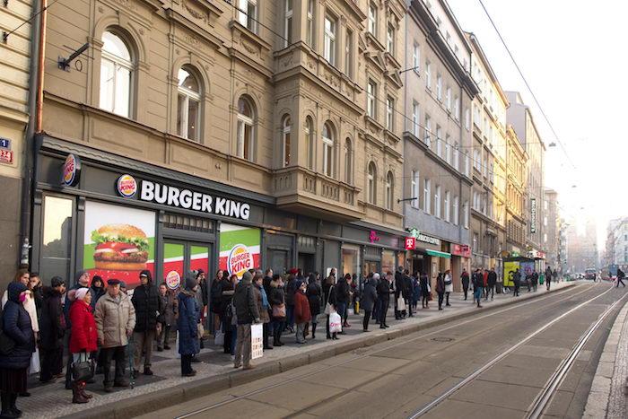 Burger King otevírá v Praze na I. P. Pavlova svou doposud největší restauraci v ČR, zdroj: AmRest.
