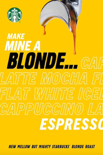 Klíčový vizuál ke světle pražené kávě, zdroj: AmRest