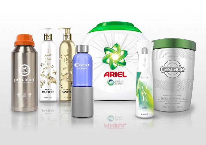 Doplnitelné obaly nabídne P&G například u vlasové kosmetiky Pantene, pracích prášků Tide a Ariel, tablet do myčky Cascade či osvěžovač Febreeze, zdroj: P&G.