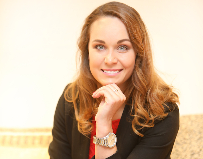 Aneta Uhlíková, zdroj: Kika nábytek