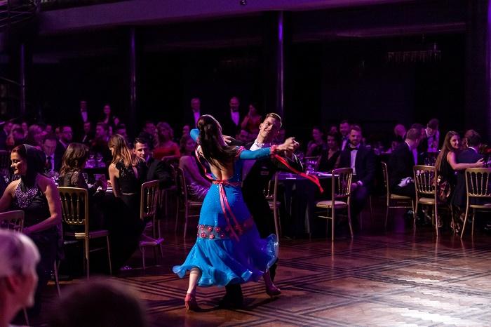 Mistři České republiky v latinskoamerických tancích Štěpán Dostál a Tereza Šimáčková, zdroj: Zásilkovna