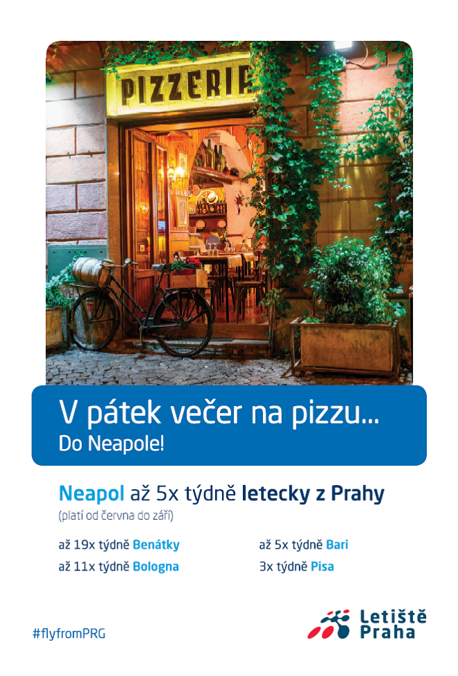 Klíčový vizuál k nové kampani Letiště Praha, zdroj: Letiště Praha