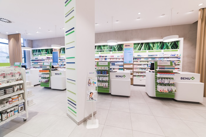Benu na pražském Chodově představila nový koncept své lékárny, zdroj: Benu.