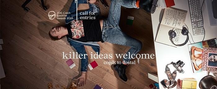 """Klíčový vizuál k letošní """"zabijácké"""" kampani na soutěž ADC Creative Awards, zdroj: ADC"""