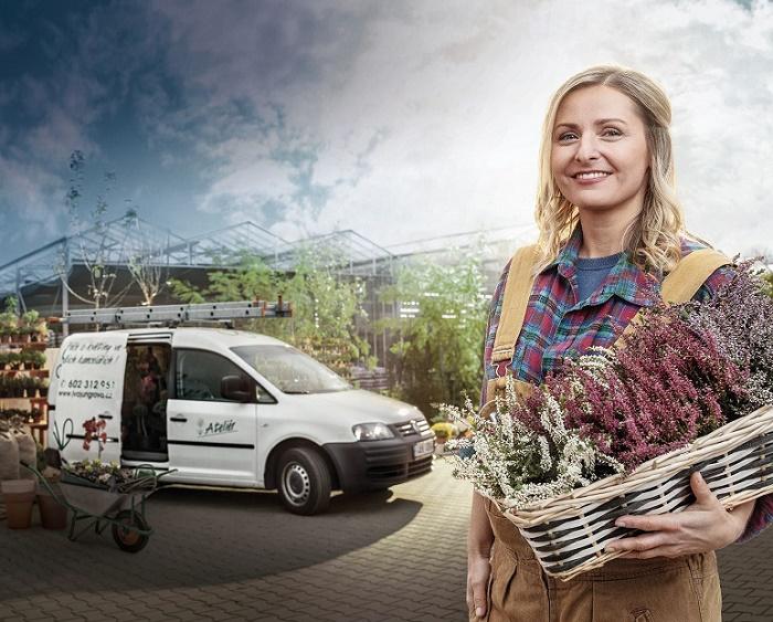 Vizuál ke kampani Moje cesta značky Volkswagen Užitkové vozy, zdroj: Porsche ČR