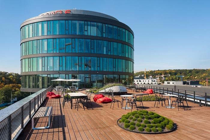 Oracle – nejlepší kanceláře v centrech sdílených služeb (autor: Ian Bryan Architects)
