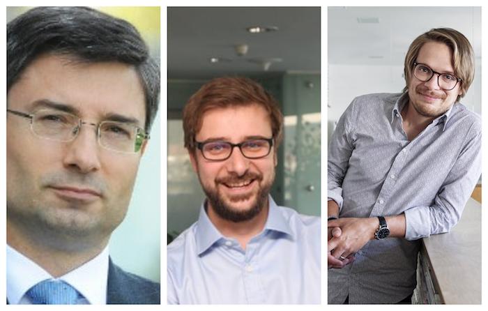 Petr Brich (Deloitte), Tomáš Potměšil (KPMG) a Michal Nýdrle (Publicis Groupe), zdroj: zmíněné firmy