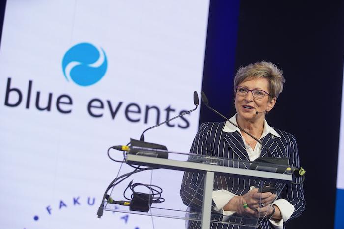 Marta Nováková vystoupila na letošním Retail Summitu, foto: Blue Events.