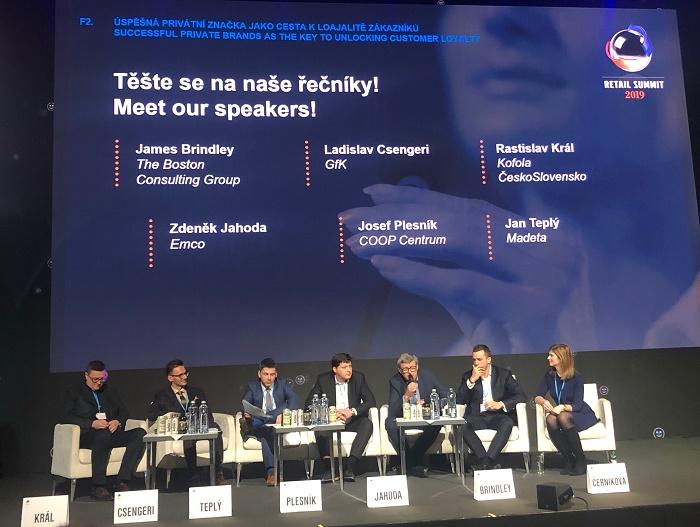 O privátních značkách se debatovalo na letošním Retail Summitu, foto: MediaGuru.cz.