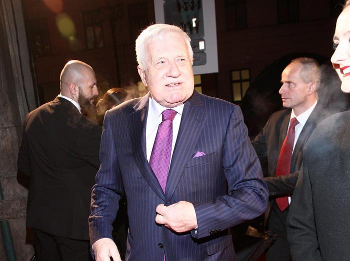 Václav Klaus, foto: TV Nova