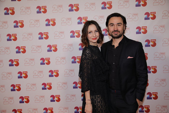 Veronika Arichteva s manželem, foto: TV Nova