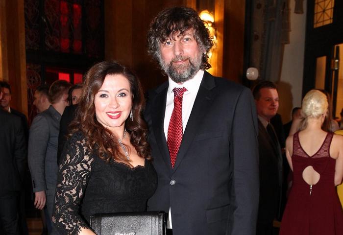 Dana Morávková s manželem, foto: TV Nova