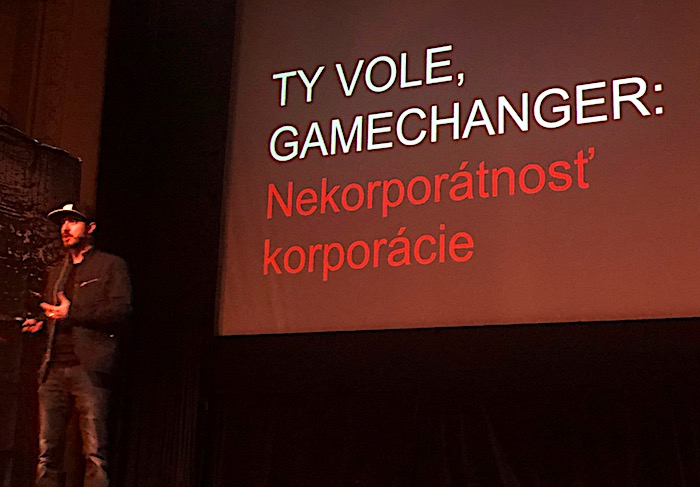 Michal Pastier na konferenci Marketing by Love, foto: MediaGuru.cz