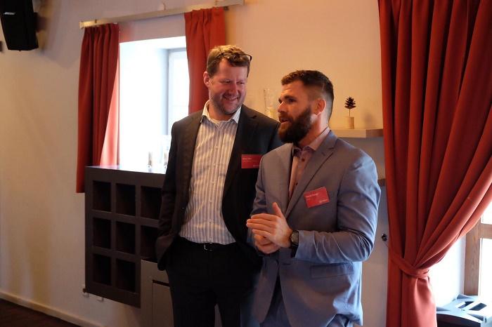 Milan Zíka, viceprezident pro technologie (vlevo), a Marek Steiger, tiskový mluvčí Vodafonu, foto: Vodafone