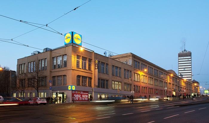 Letos v lednu otevřená prodejna vznikla přestavbou stávající budovy, zdroj: Lidl.