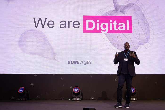Sudan Martin Jackson z Rewe Digital na Retail Summitu, zdroj: Blue Events